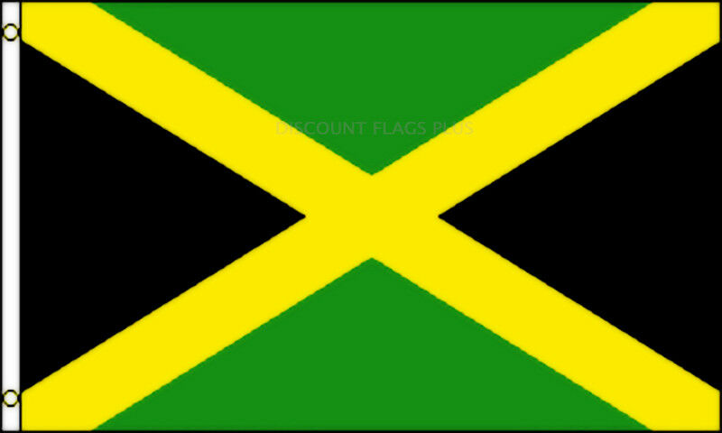 Jamaica International 3x5 Polyester Flag