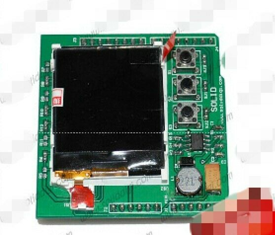 New color image lcd shield for arduino nokia display