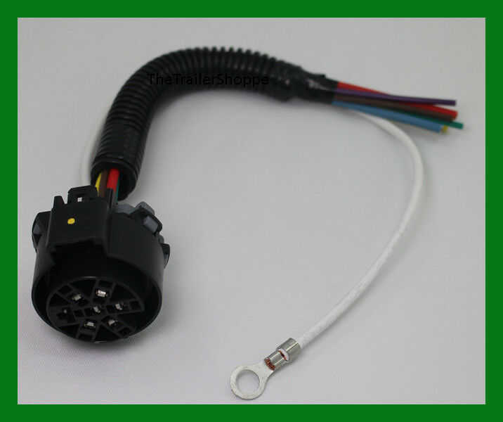 Oem Trailer Plug Wiring Harness Bare Wire To Oe Connector