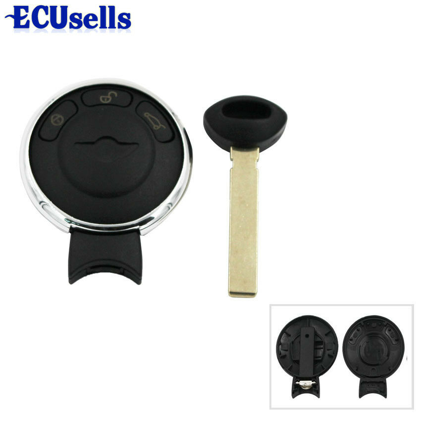 remote key fob shell replacement for mini cooper keyless entry ebay. Black Bedroom Furniture Sets. Home Design Ideas
