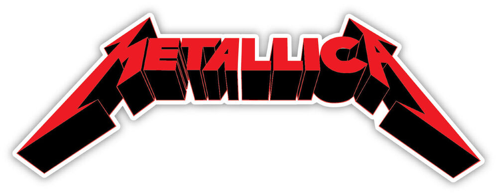 Metallica Sticker Decal 2 Sizes Vinyl Bumper Window Wall