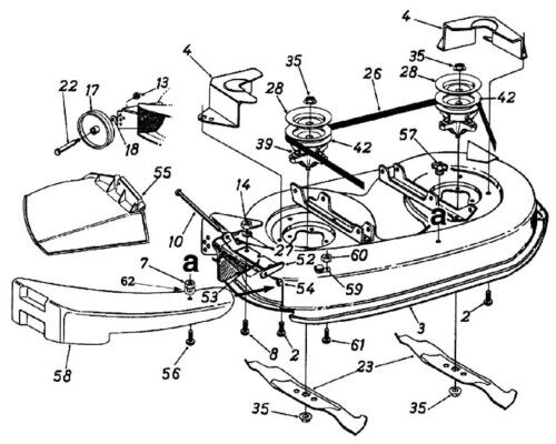 John Deere Lawn Mower Wiring Diagram in addition 6vsn2 Stx 38 Yellow Deck Mower Belt Diagram in addition John Deere Lt166 Garden Tractor Spare Parts likewise John Deere 650g Wiring Diagram besides John Deere 160 Lawn Mower Belt Diagram. on john deere sabre wiring diagram