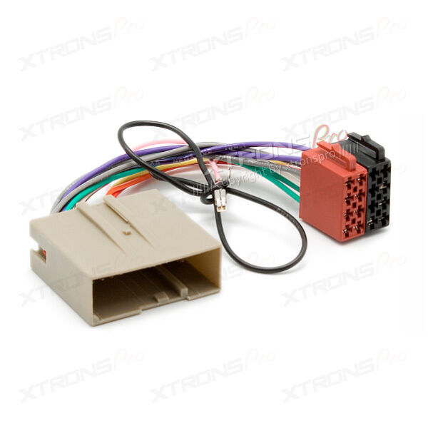 Xtrons Iso Wiring Harness Adapter For Ford Fusion Fiesta Land Rover Rhebay: Ford Wiring Harness Adapter At Gmaili.net
