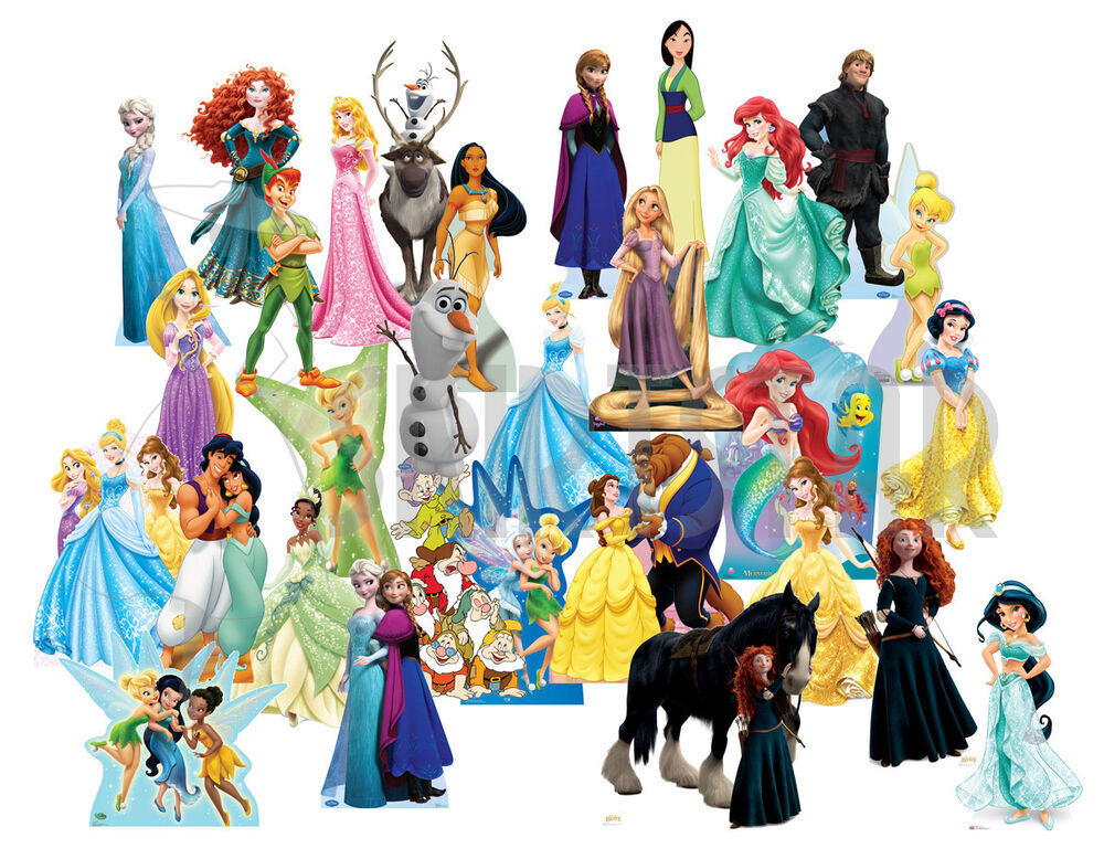 Disney Cardboard Standee Party Decoration Frozen Princess ...