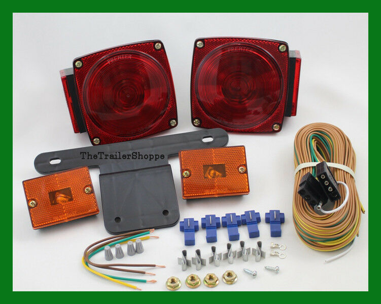 Red STT 440 Lights Amber Marker Lights Wiring and