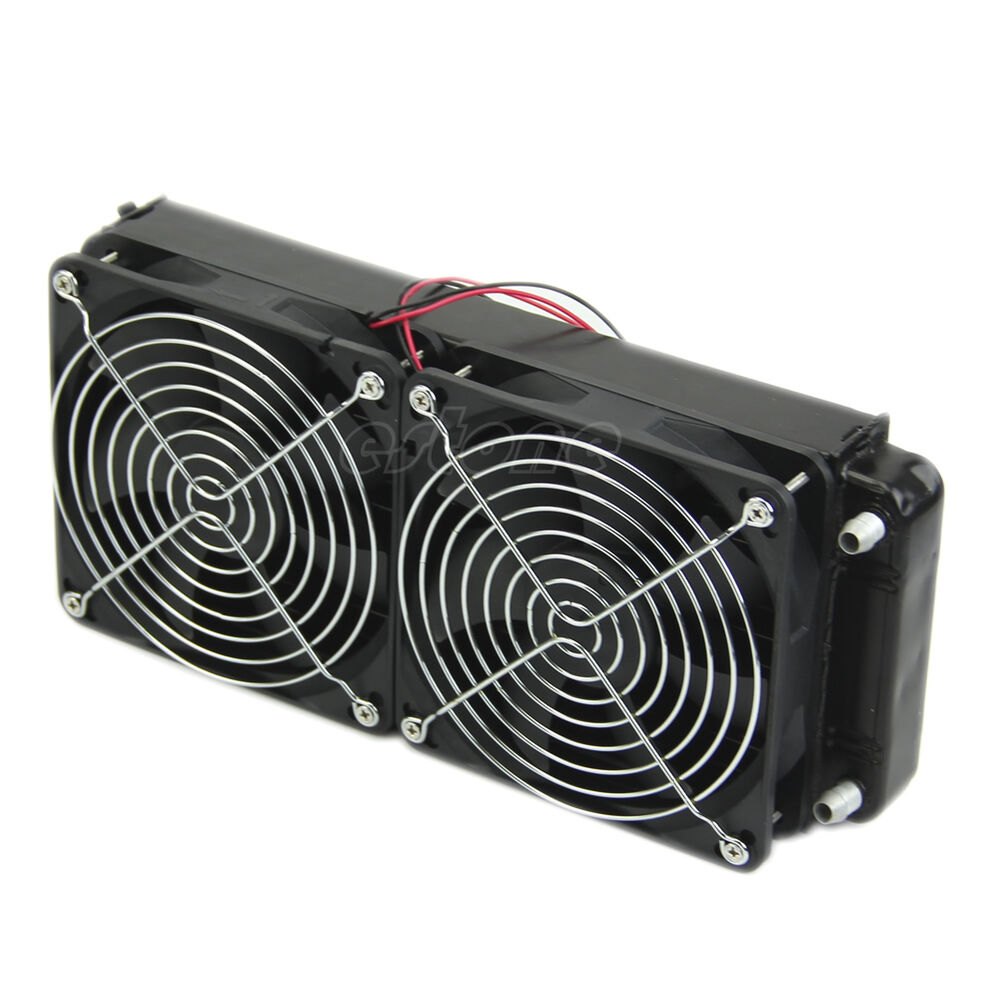 Computer Cooling Fans : For cpu heatsink aluminum computer radiator water cooling