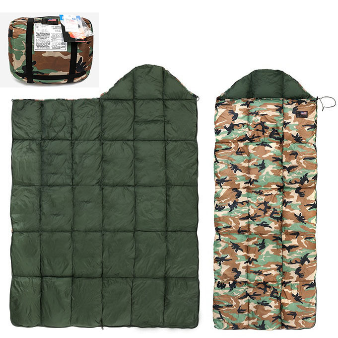 Us Military Cold Winter Sleeping Bag Camping Quilt Duck