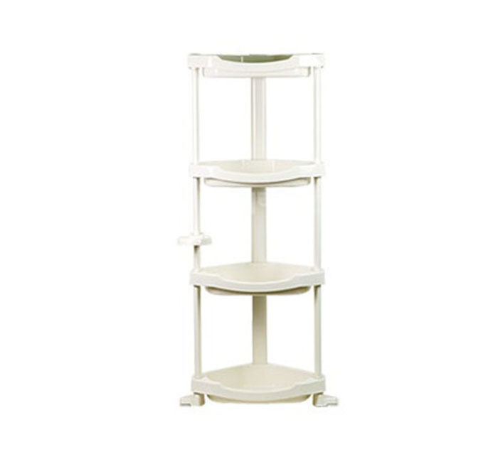 Bathroom Corner Shelf Stand 4tier Layers Storage Sundries