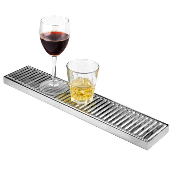 Stainless Steel Long Drip Tray Back Bar Drip Tray 10cm X