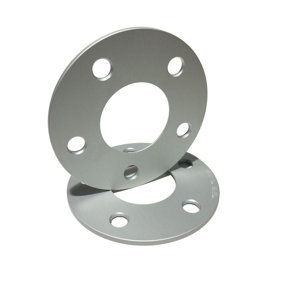 2 mercedes benz hubcentric wheel spacers 5mm thick 66 for Wheel spacers for mercedes benz