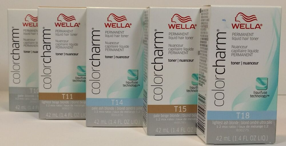 Wella Color Charm Permanent Hair Toner 14ozchoice Color Ebay