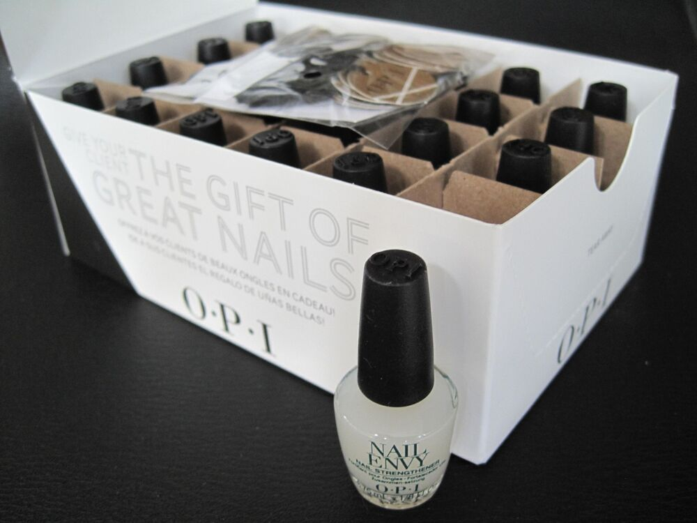Opi Gwen Mini Original Nail Envy Nail Polish Top Coat 24 Pc Gift Set 1 8 Oz Nib Ebay