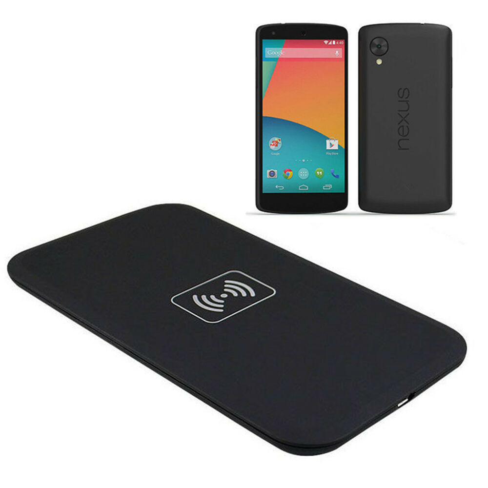 qi wireless charger charging pad for google lg nexus4 5 phone nexus 7 pc quality ebay. Black Bedroom Furniture Sets. Home Design Ideas