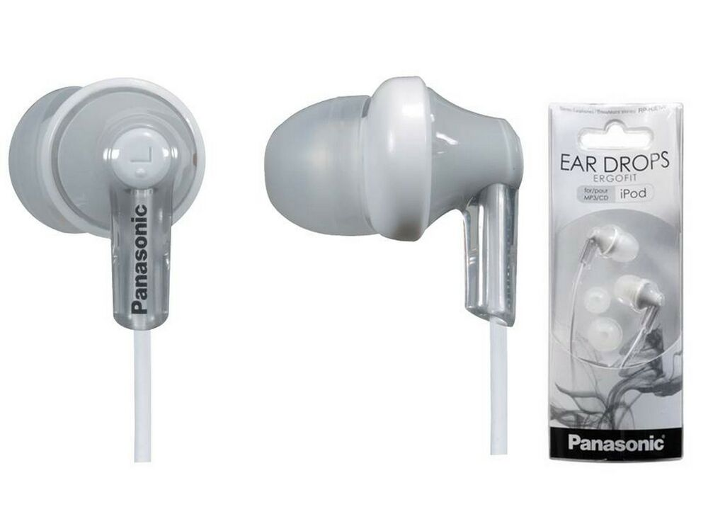 Wireless headphones bluetooth earbuds samsung - Panasonic ErgoFit (Black) Overview