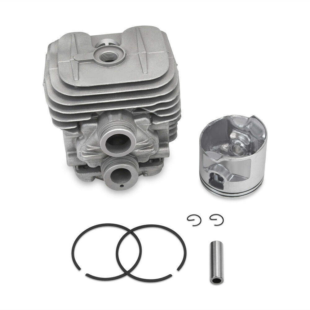 New Stihl Ts410 Ts420 Cylinder Head Piston Kit With Rings