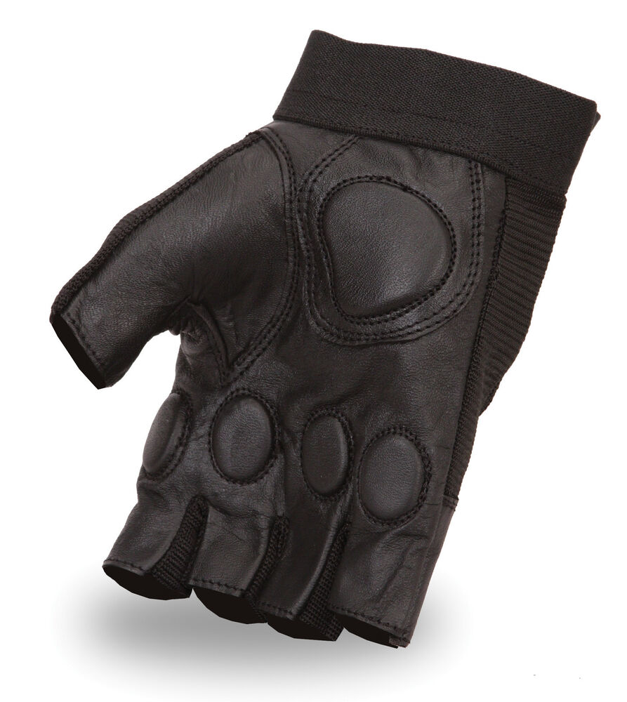 Neoprene Weight Lift Training Workout Gym Palm Exercise: WEIGHT LIFTING GEL PADDED PALM LEATHER GLOVES FITNESS