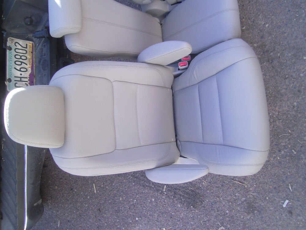 toyota sienna 2015 2016 second row tan leather bucket seat passenger side ebay. Black Bedroom Furniture Sets. Home Design Ideas