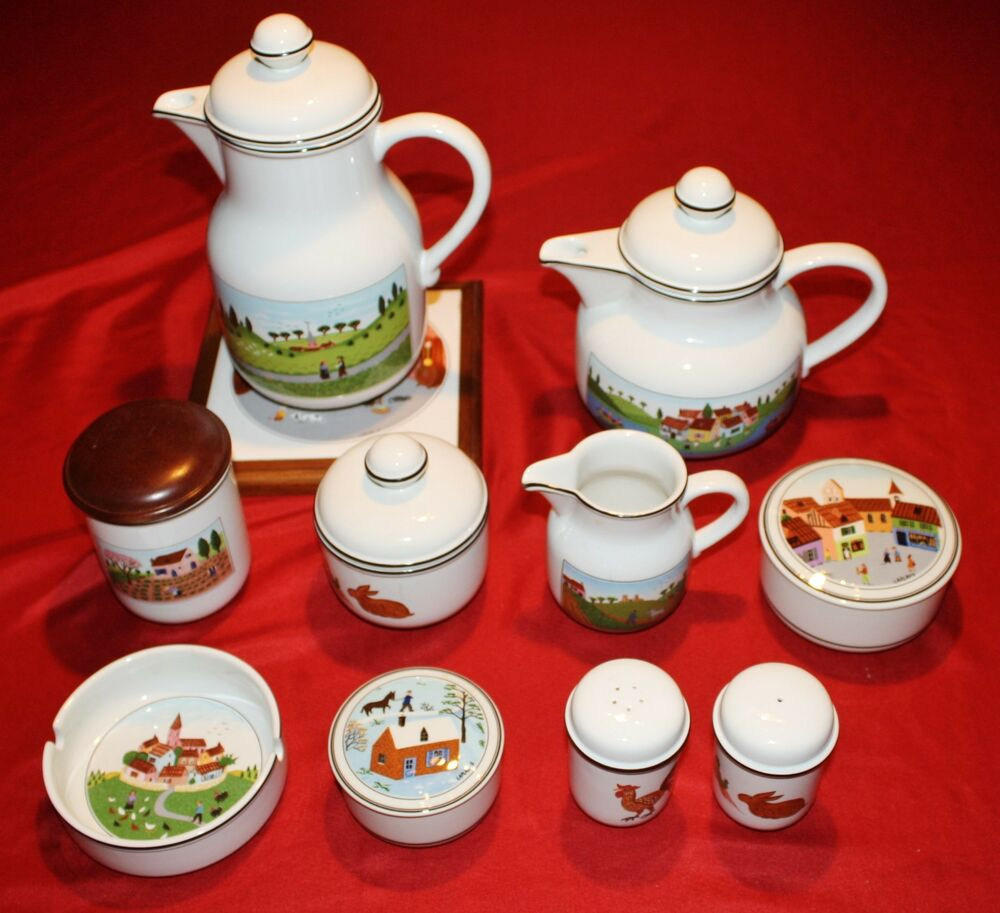 Villeroy boch design naif 11 piece service set coffee for Villeroy boch naif