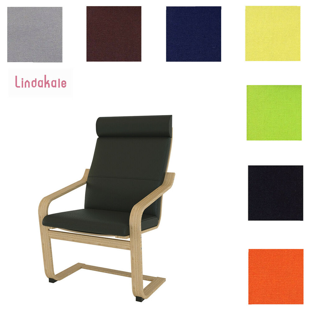 Custom Made Chair Cover Fits Ikea Poang Chair Replace
