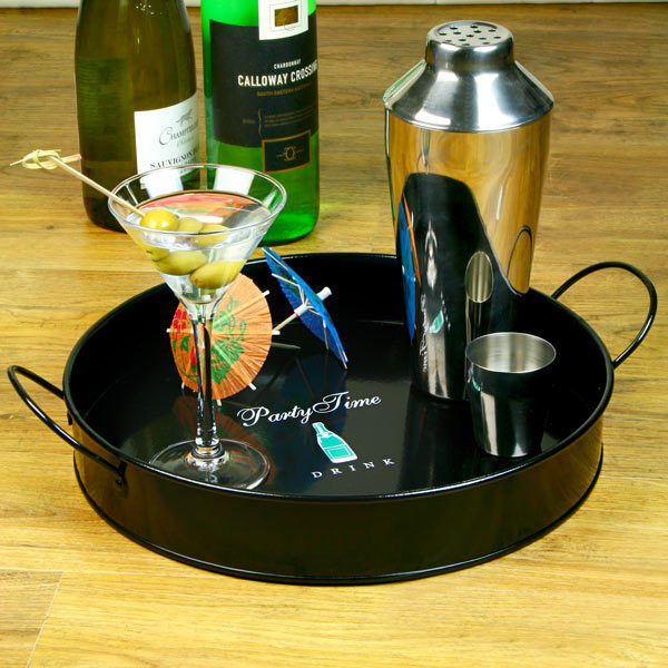 Party Time Drinks Tray 12 Inch bardrinkstuff Serving