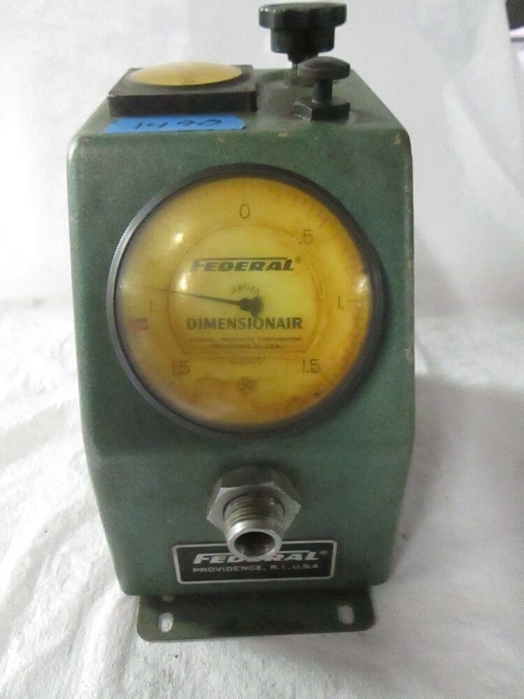 Electronic Federal Gage Products : Federal dimensionair model d air gage ebay