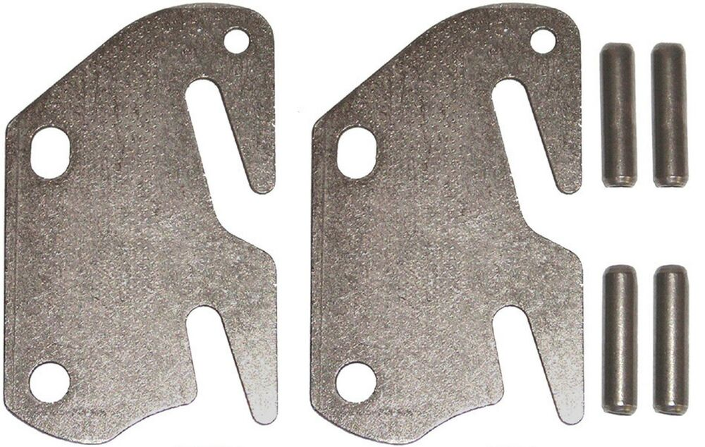 Wood Bed Rail Double Hook Plate Replacement 13 Ga Usa