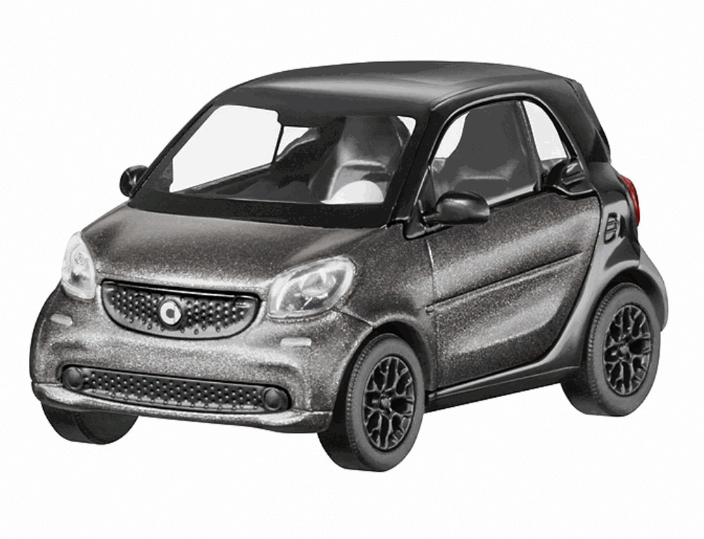 modellauto 1 87 original smart fortwo coupe anthrazit schwarz c 453 c453 ebay. Black Bedroom Furniture Sets. Home Design Ideas
