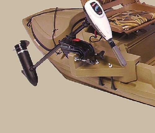 New 1200 series stealth beavertail 400222 duck hunting for Outboard motor for canoe