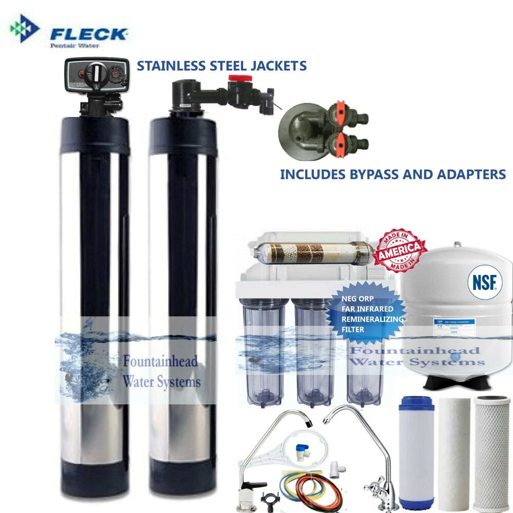 Salt Free Water Softener Bone Char Carbon Reverse Osmosis