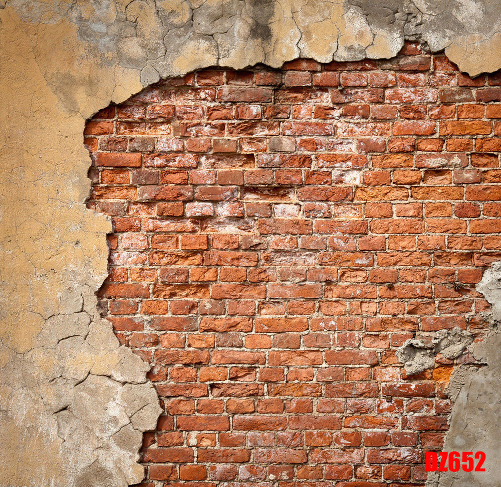 Thin vinyl brick wall backdrop photography prop photo - Faux mur en brique ...