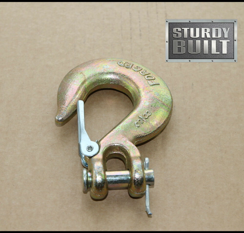Tractor Tow Hooks : Quot slip hook g tow truck chain tractor clevis