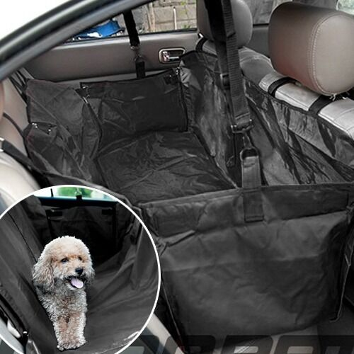 Back Seat Car Covers For Dogs >> Car Back Seat Cover Pet Dog cat Hammock Protector Mat Rear ...