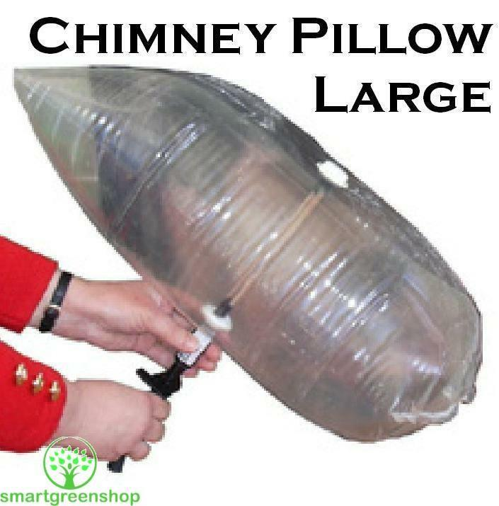 Chimney Pillow Large 36 X 15 Inches 90 X 38cm Fireplace Draught Stop Balloon Ebay
