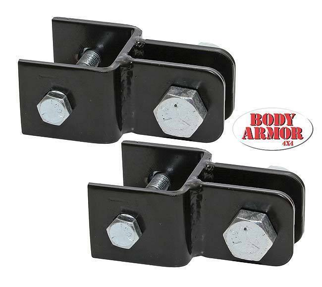 Body Armor 4x4 Horizontal Tow Bar Adapter Brackets 87