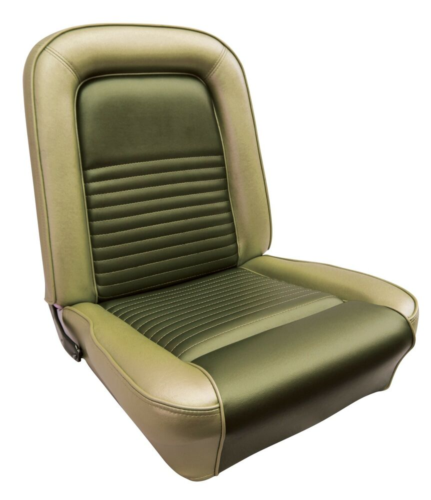 1967 ford mustang standard bucket seat cover set new authentic reproduction ebay. Black Bedroom Furniture Sets. Home Design Ideas