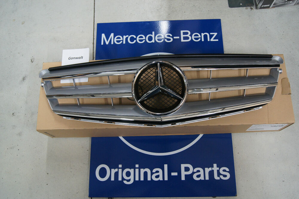 Mercedes benz c300 c350 radiator sport grille genuine w204 for Mercedes benz c300 aftermarket accessories