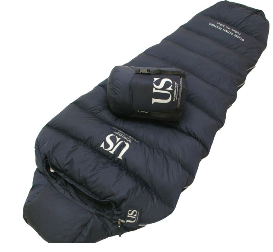 Outdoor 3 Seasons Winter Sleeping Bag Camping Quilt Goose