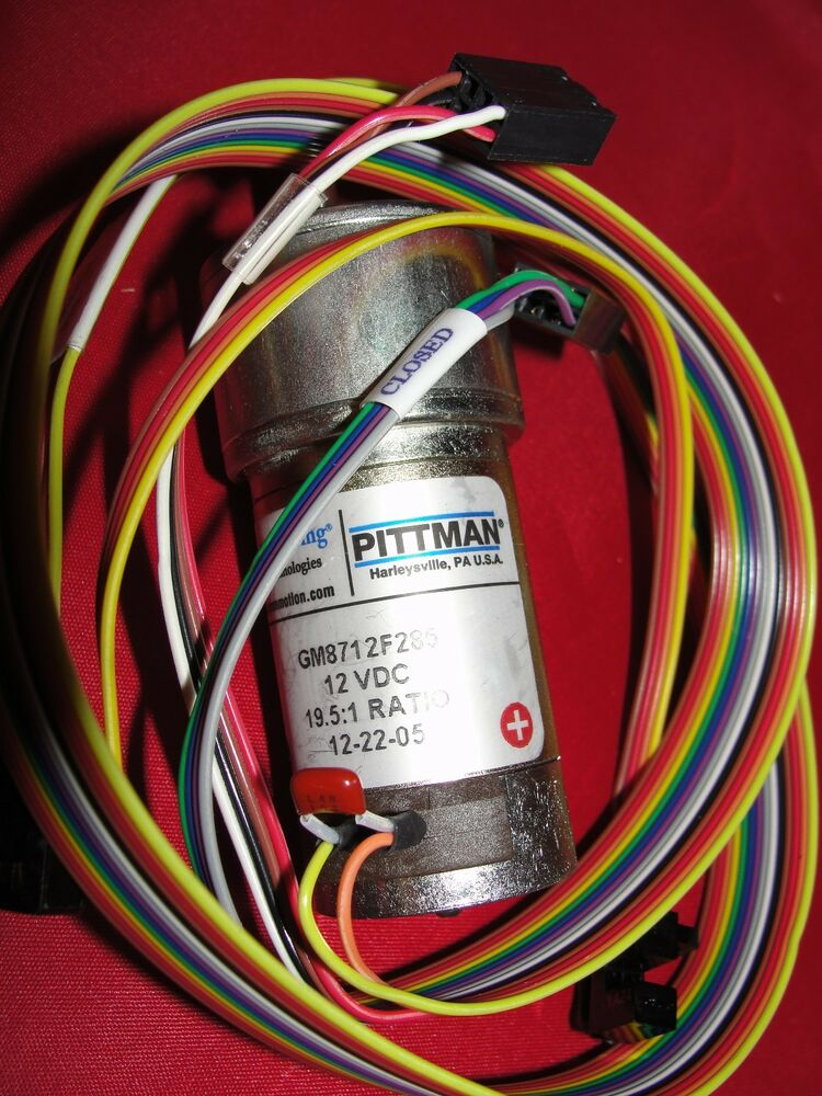 Pittman Gm8712f285 Mini Brush Gear Motor 12vdc 19 5 1