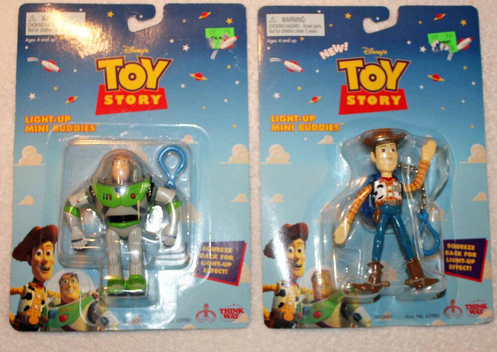 Woody Toy Story Games : Toy story buzz lightyear woody light up buddies ebay