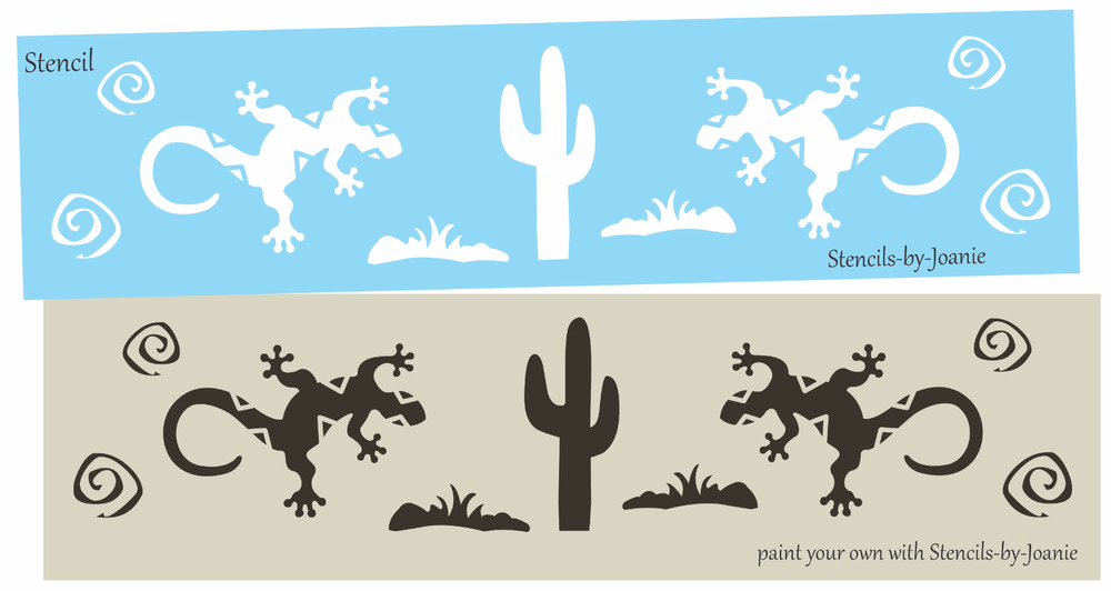 Southwest Wall Stencils Painting