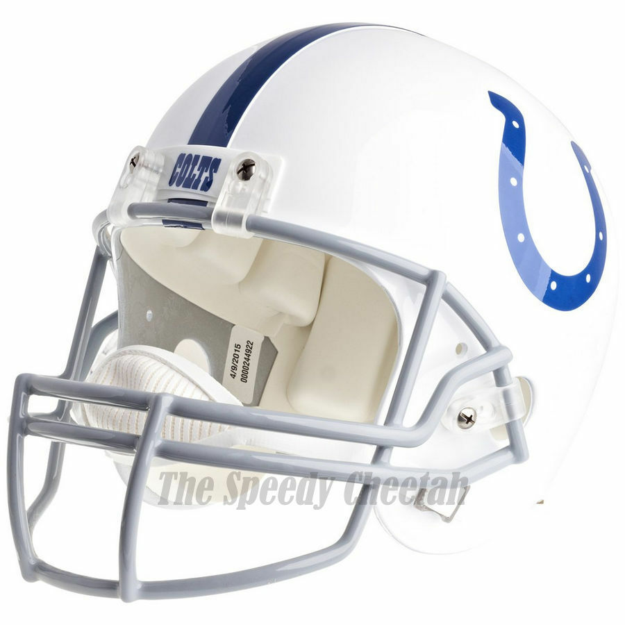 INDIANAPOLIS COLTS RIDDELL NFL FULL SIZE REPLICA FOOTBALL ...