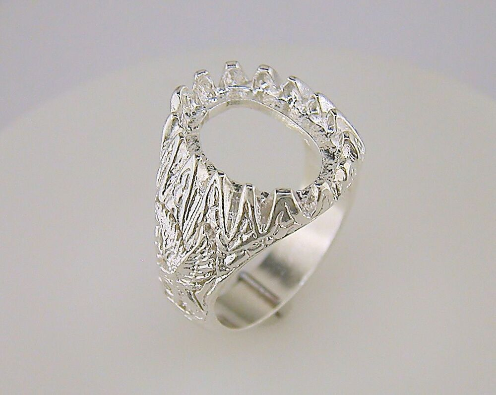 Mens Ring Settings For Cabochon