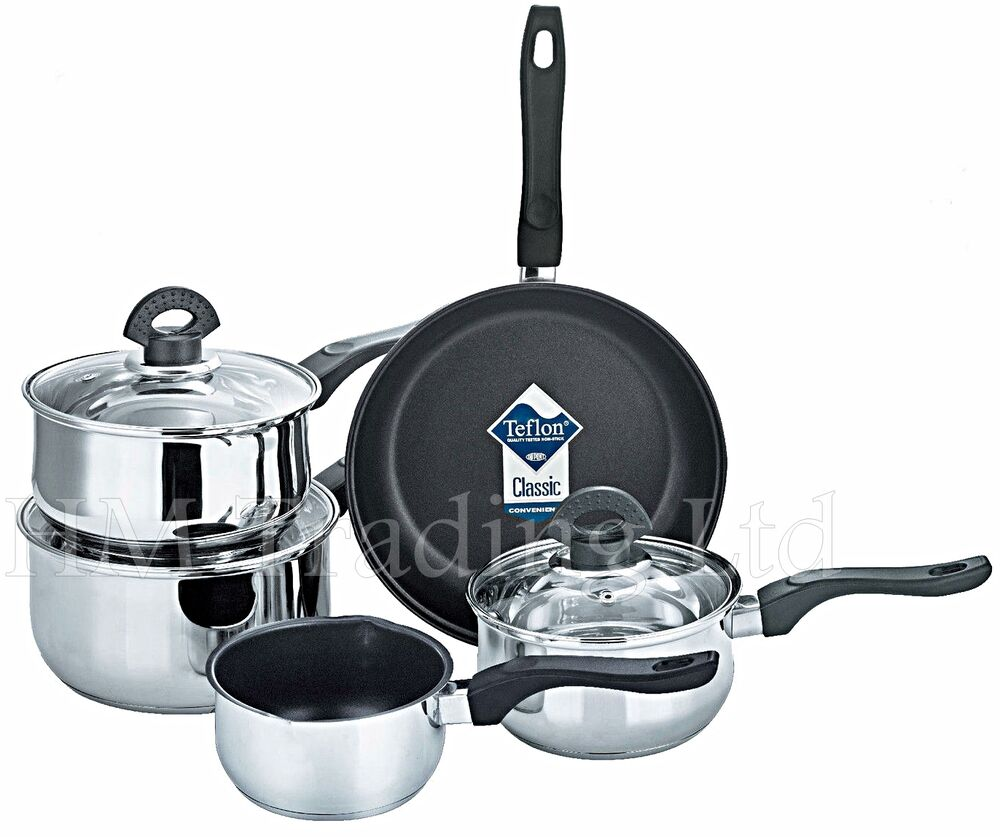 Induction Cooktop Cookware ~ Xylan pcs non stick induction saucepan cookware cooking