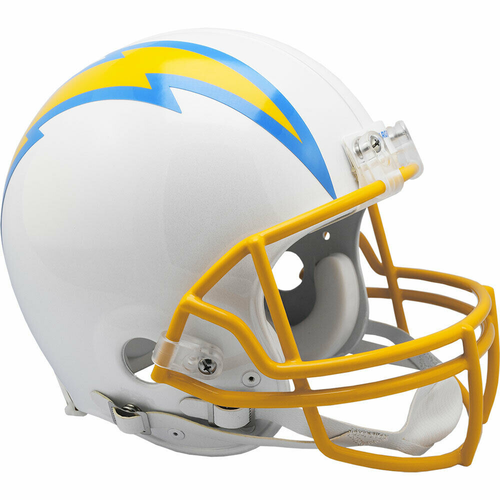 San Diego Chargers Football: SAN DIEGO CHARGERS RIDDELL NFL FULL SIZE AUTHENTIC PROLINE