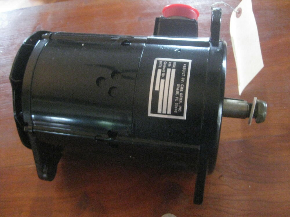 Cme Arma Engine Accessory Generator 2256a Aircraft Aviation Htf Original Parts Ebay