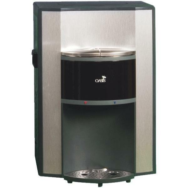 ... Oasis Hot/Cold Bottleless Countertop Water Cooler Dispenser eBay