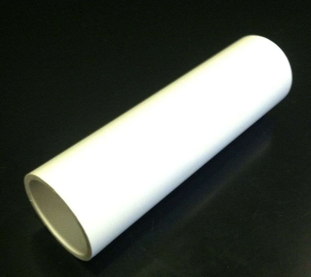 2 inch diameter pvc plastic pipe schedule 40 white ebay. Black Bedroom Furniture Sets. Home Design Ideas