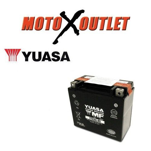 Yuasa ytx20l bs yamaha grizzly 450 550 600 660 kodiak 700 for 2006 yamaha grizzly 660 battery