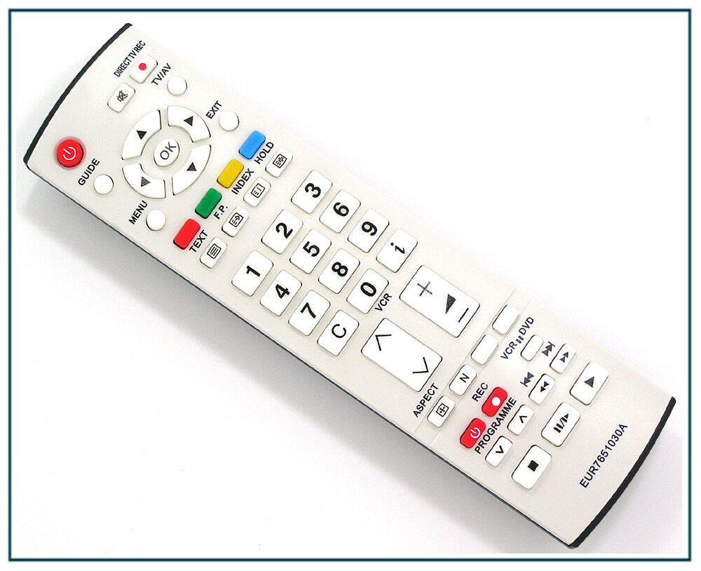 ersatz fernbedienung f r panasonic viera eur7651030a fernseher tv remote control ebay. Black Bedroom Furniture Sets. Home Design Ideas