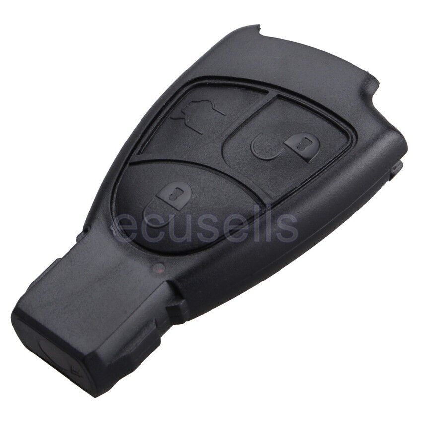 3 button for mercedes benz smart remote key fob case for Replacement key mercedes benz